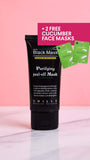 Purifying Peel-Off Mask + 2 FREE CUCUMBER FACE MASKS