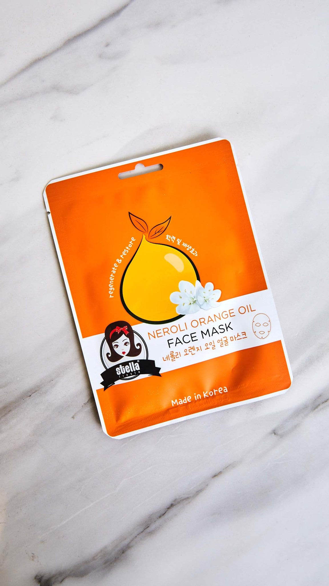 Neroli Orange Oil Regenerating Face Mask