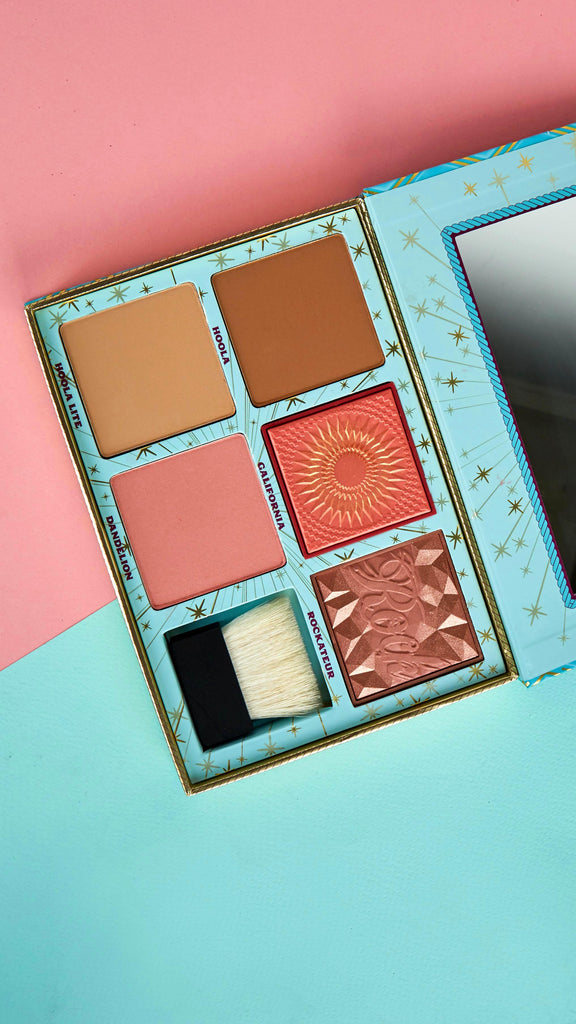 Cheek Paradise Bronzer and Blush Palette
