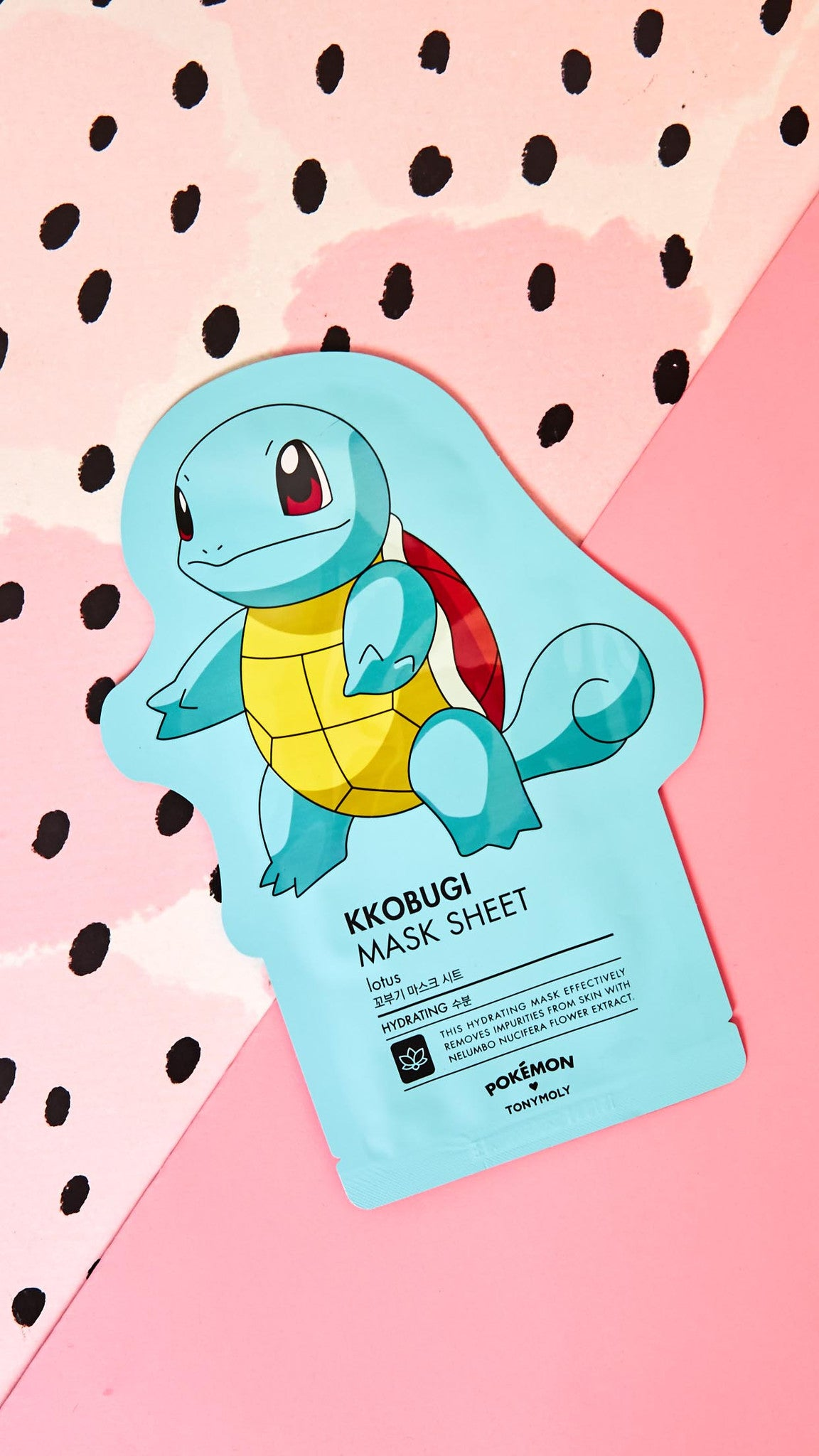 Squirtle Lotus Hydrating Mask
