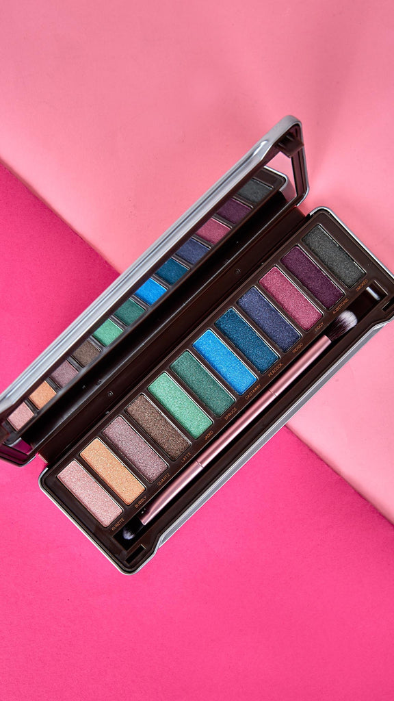 Shimmer Color Eye Palette