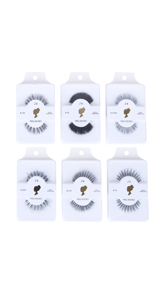 100% Human Hair Lashes