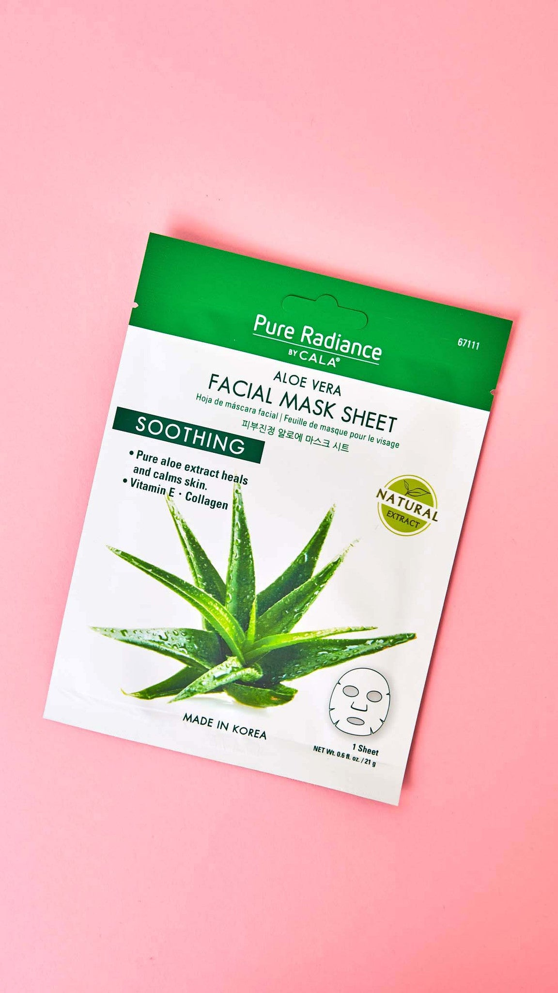Aloe Vera Soothing Facial Mask