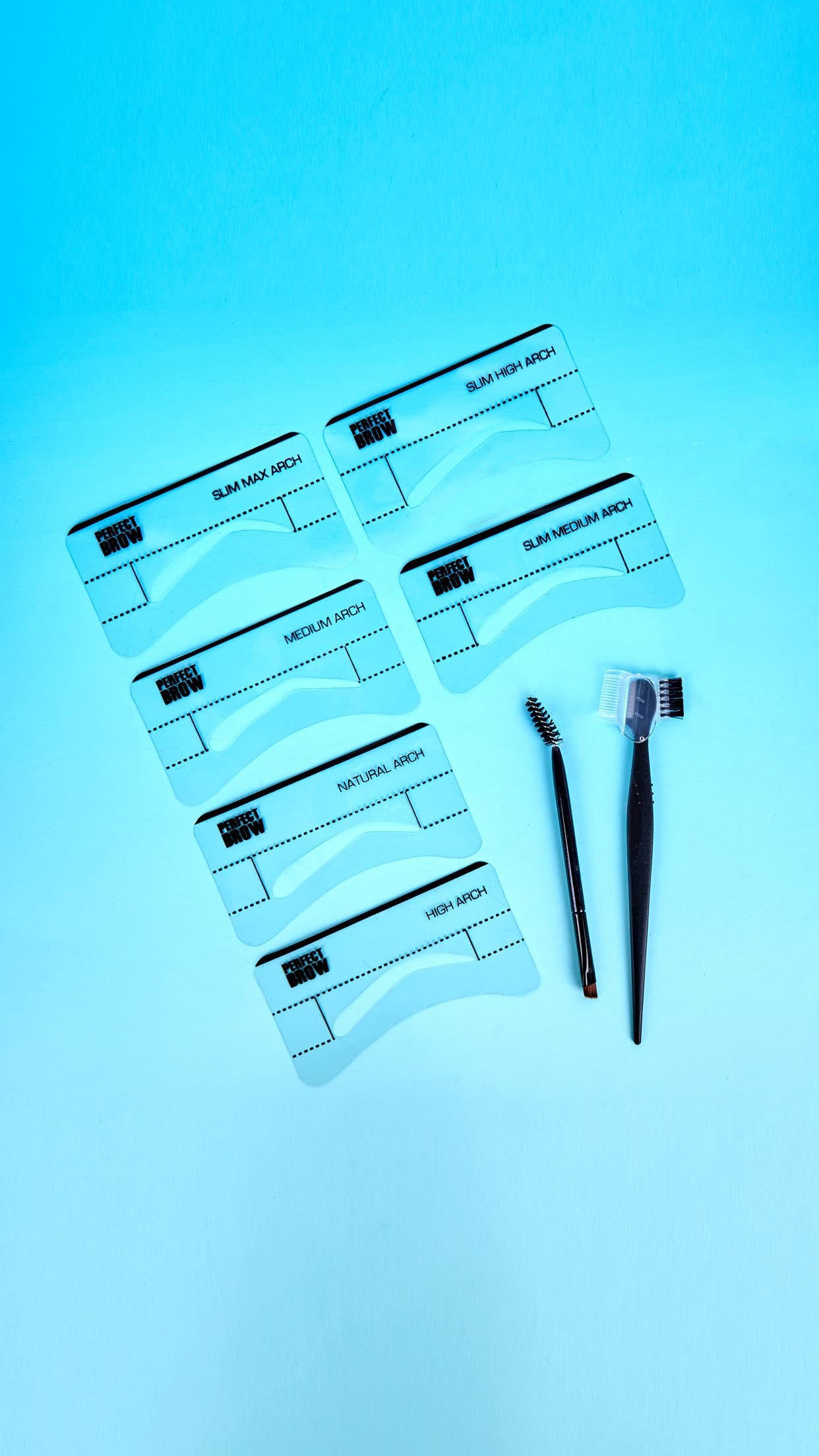 Perfect Brow Eyebrow Stencil Kit