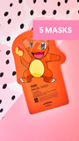 5 Charmander Grapefruit Brightening Masks