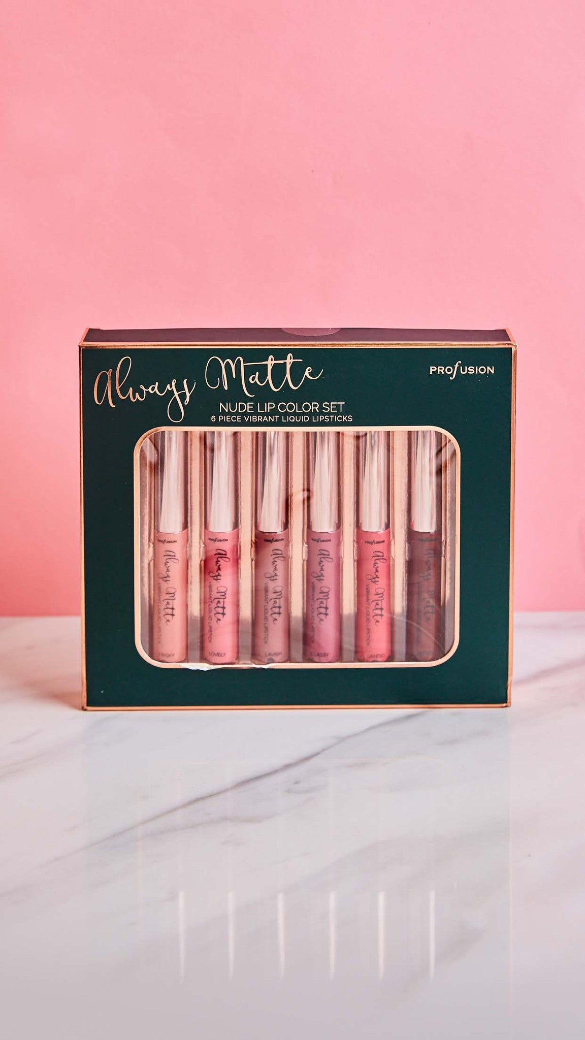 Always Matte Nude Lip Color Set