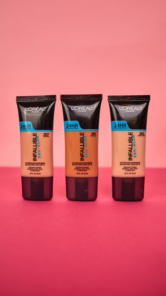 Infallible Pro Glow Foundation