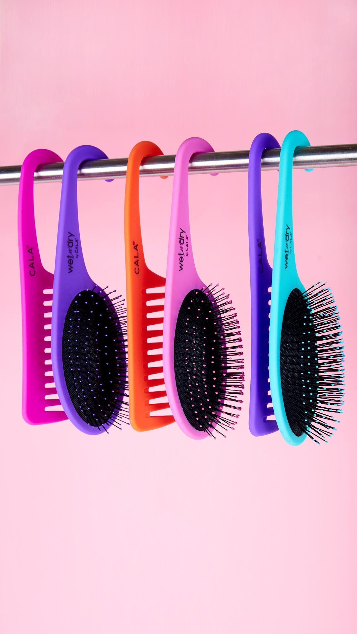 Shower Combo Detangle Brush and & Comb