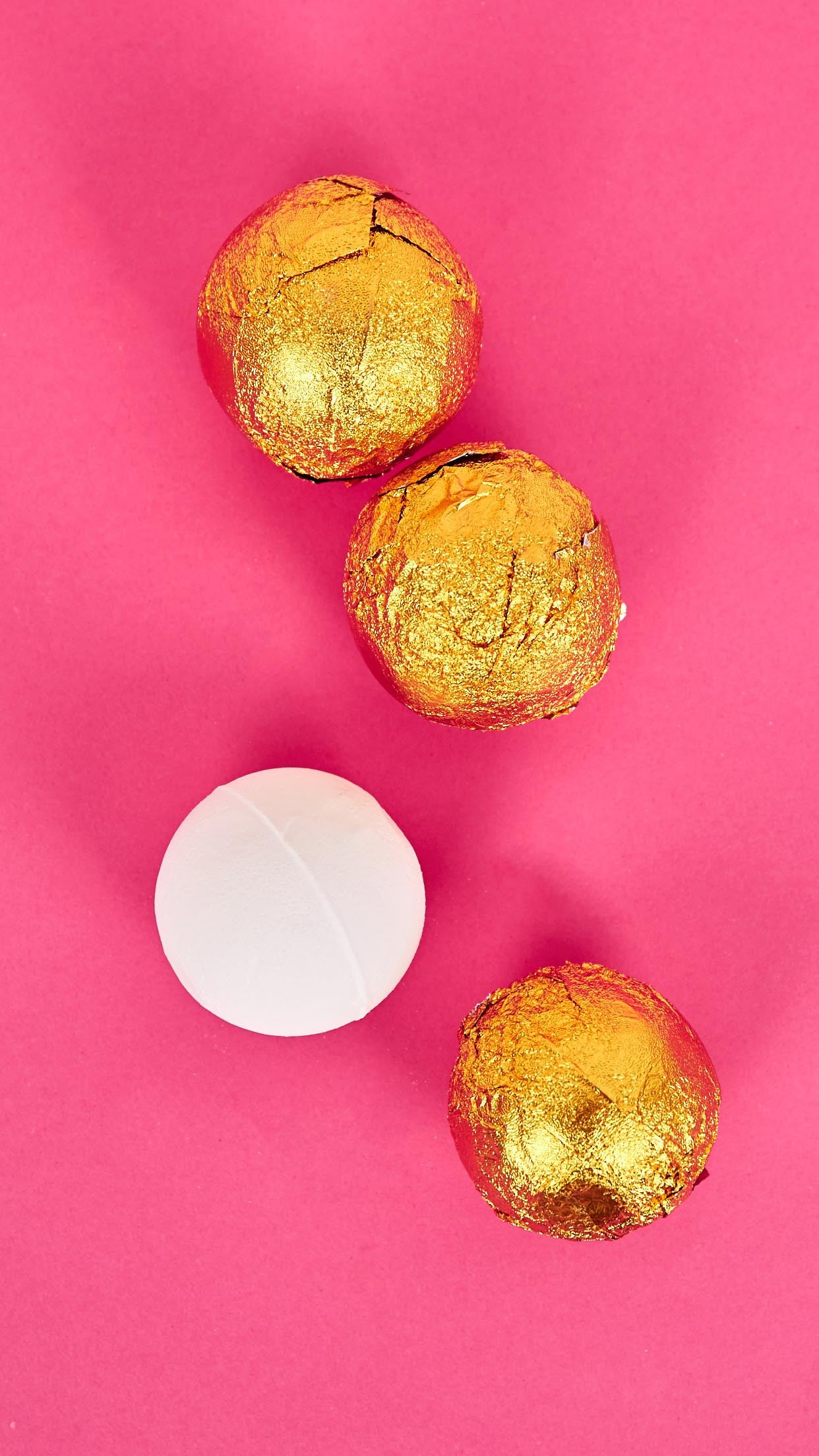 Relax & Unwind Gold Bath Bombs (Pack of 4)