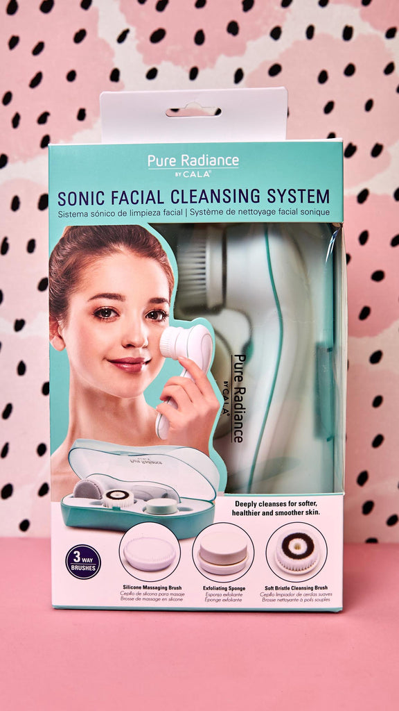 Sonic Facial Cleanser Set