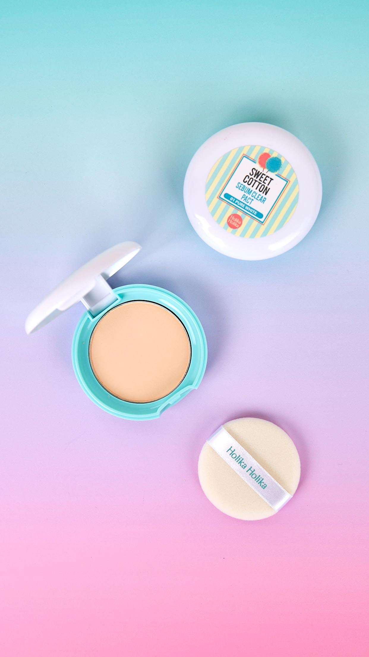 Sweet Cotton Sebum Clear Pact