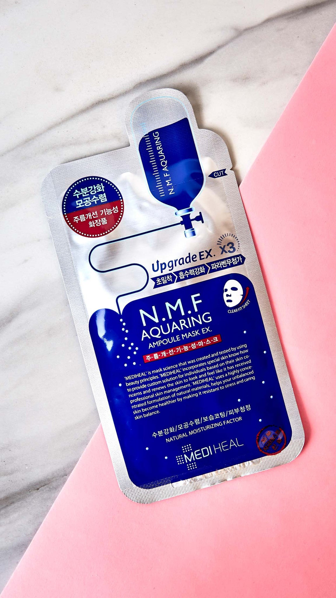 NMF Aquaring Ampoule Mask EX