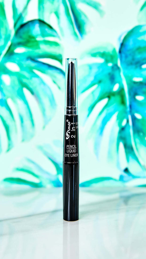 2-in-1 Pencil and Liquid Eye Liner
