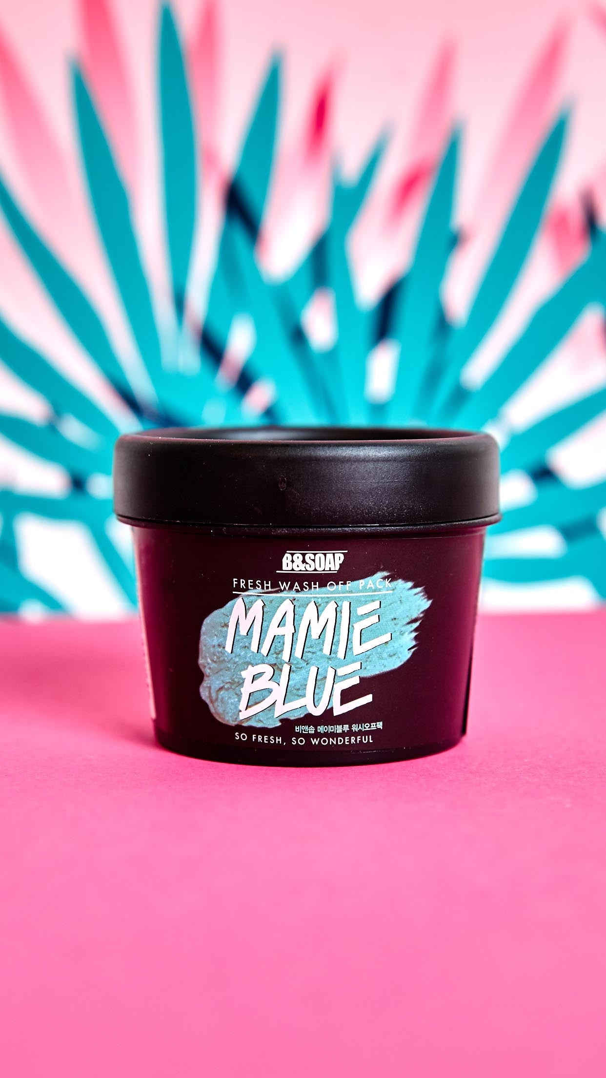 Mamie Blue Refreshing Wash-Off Face Mask