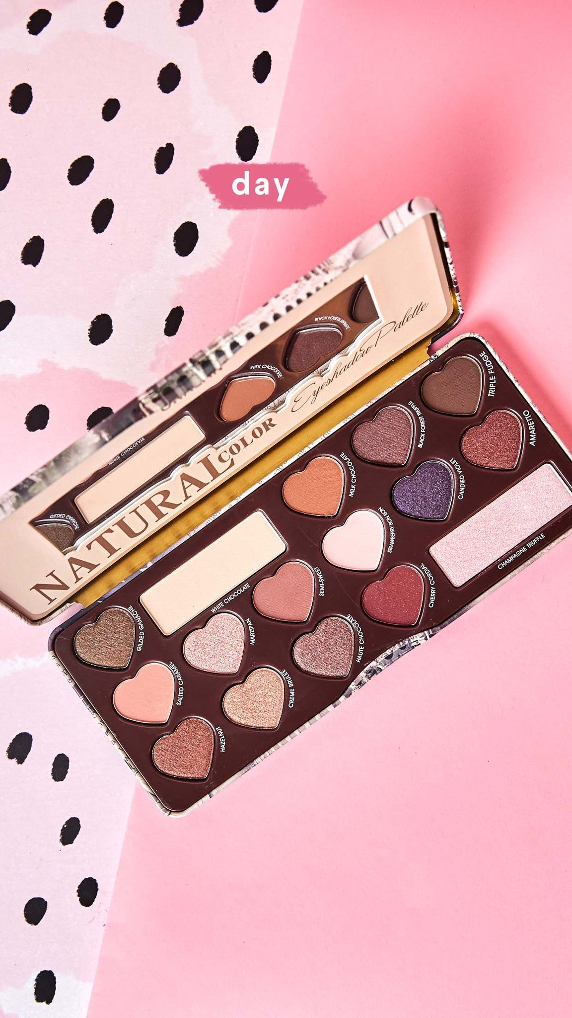 Natural Eyeshadow Palette Color