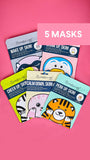 5 Animal Face Masks for $10