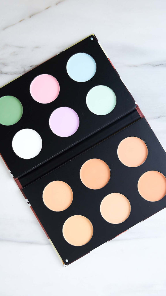 12 Color Concealer Paletter