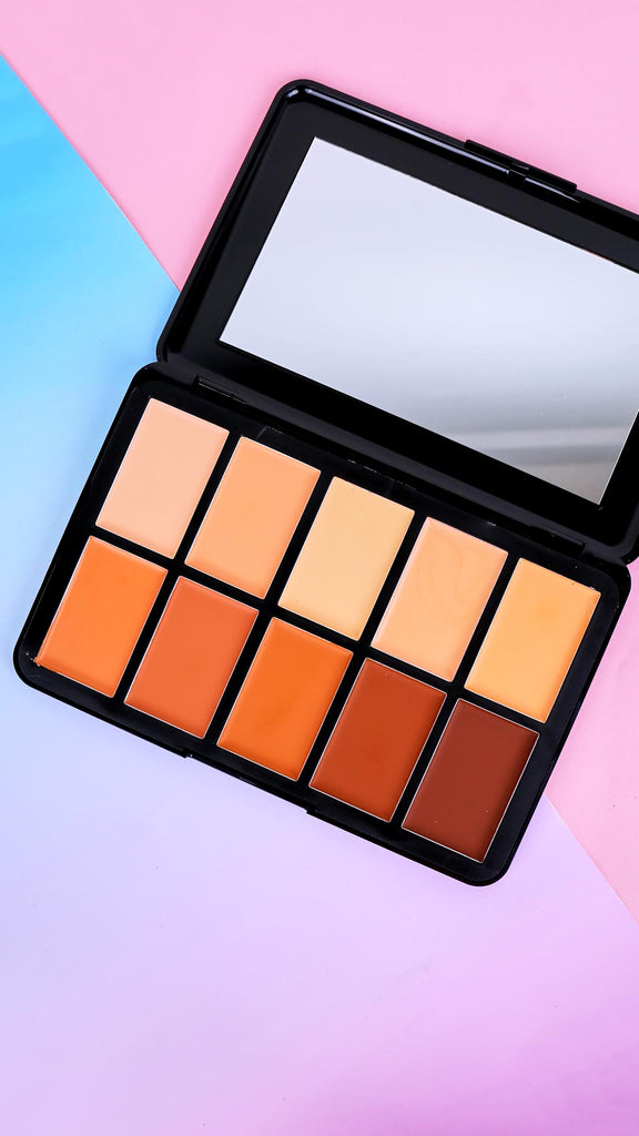 10 Shade Cream Contour Palette