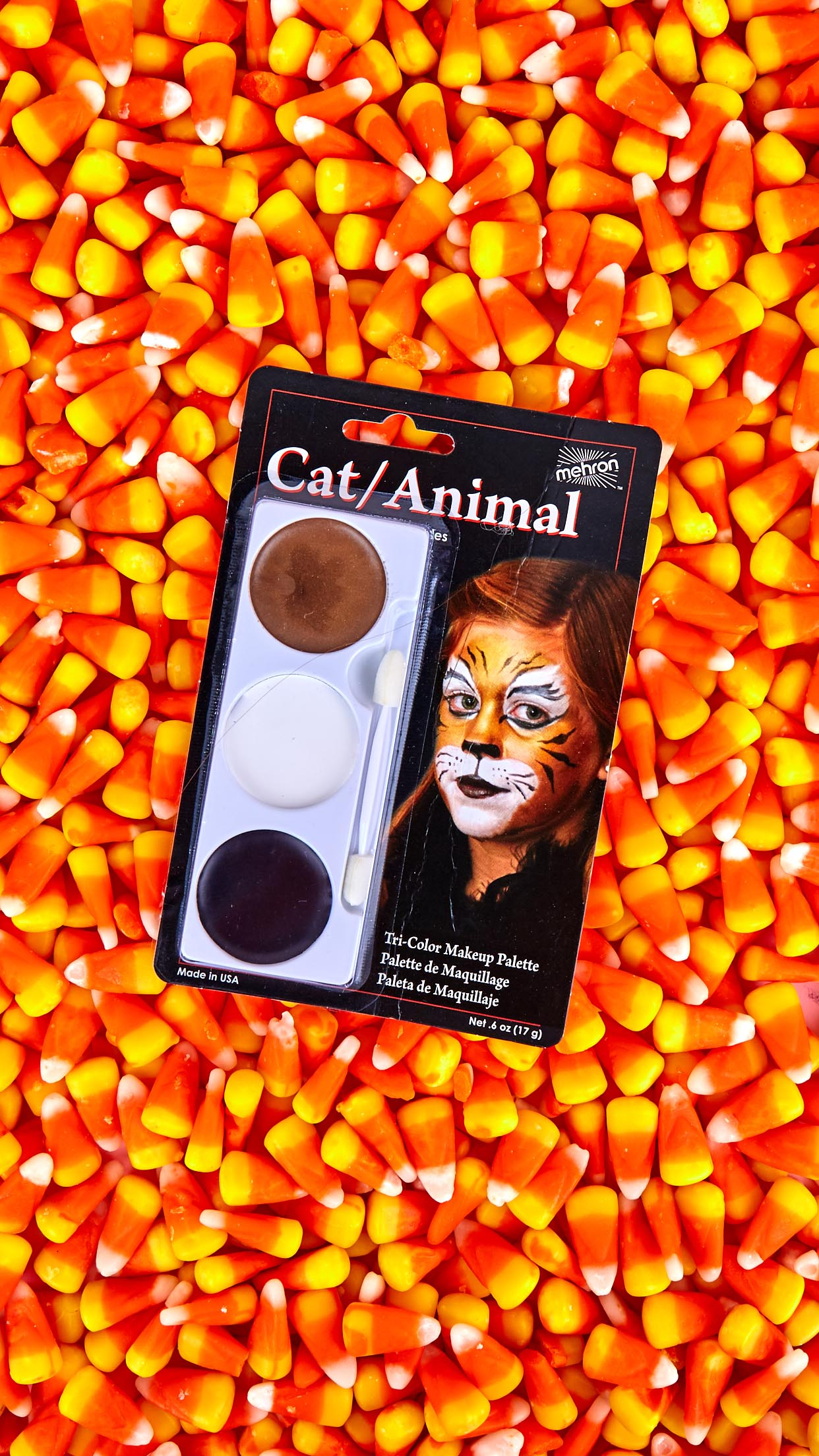 Tri-Color Makeup Palette Cat/Animal