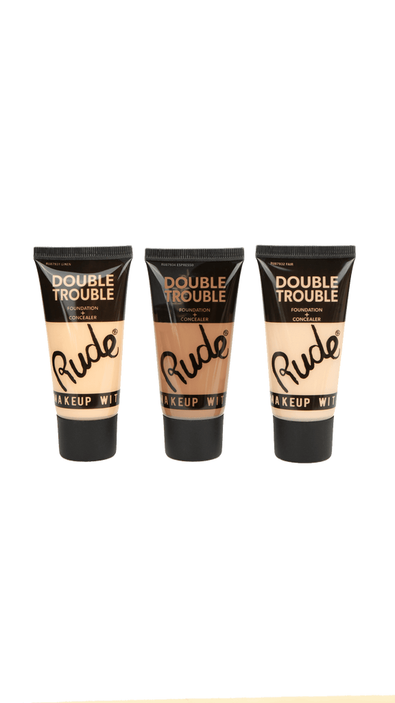 Double Trouble Foundation + Concealer