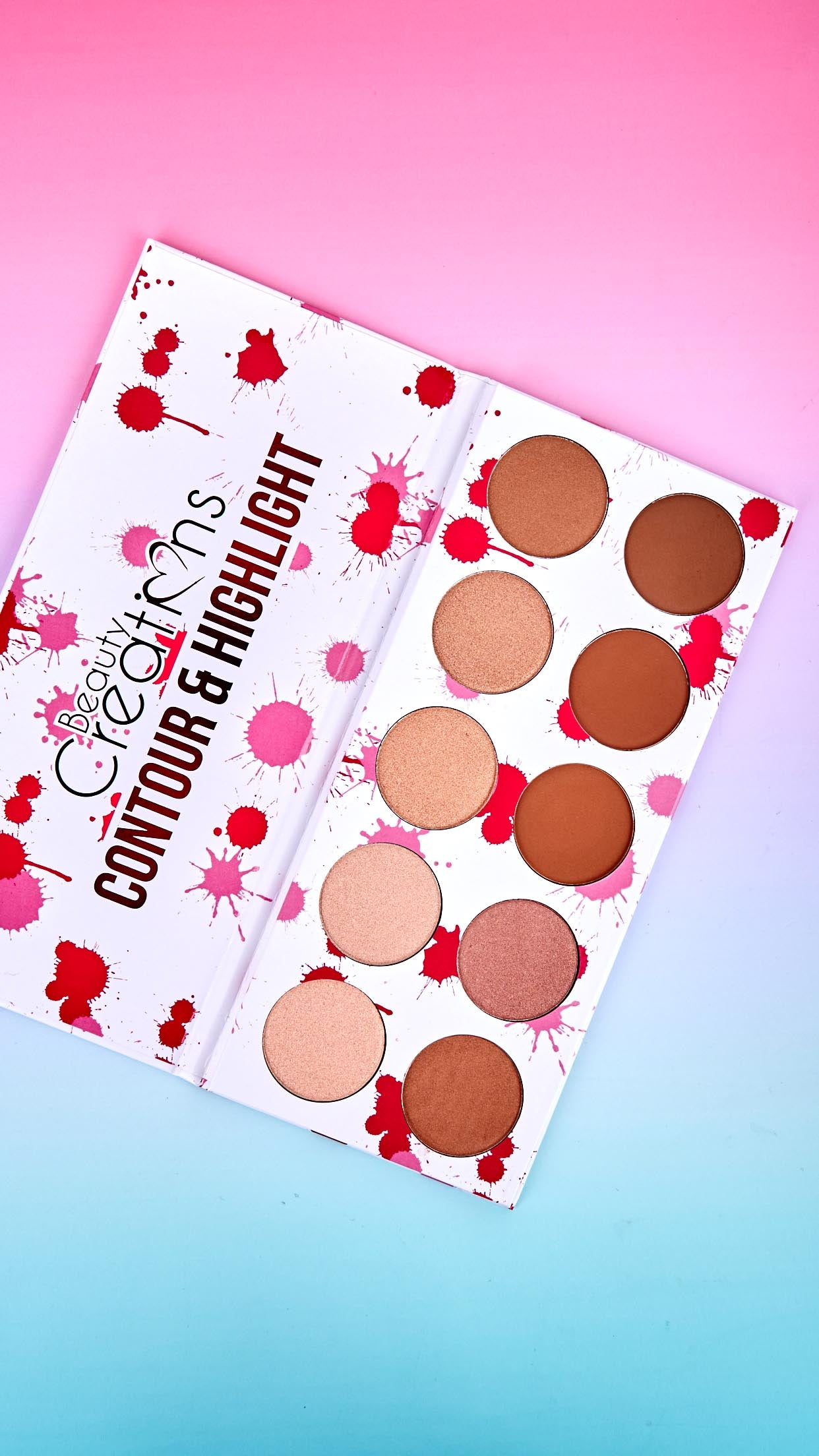 10 Shade Contour & Highlight Palette