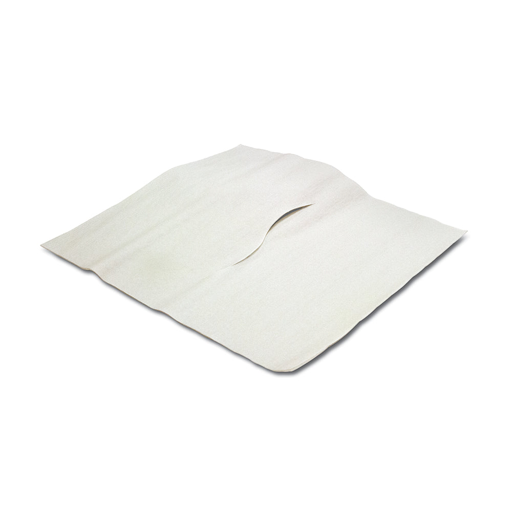"ECONOMY HEADREST TISSUE, 12""X12"", WITH NOSE SLOT"