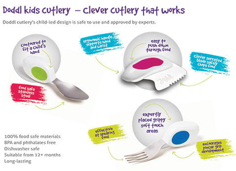 Doddl 3-Piece Cutlery Set