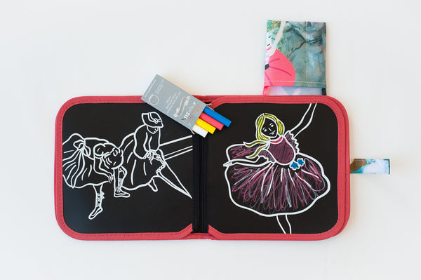 Jaq Jaq Bird Chalk Colour It! Book: Artist Series
