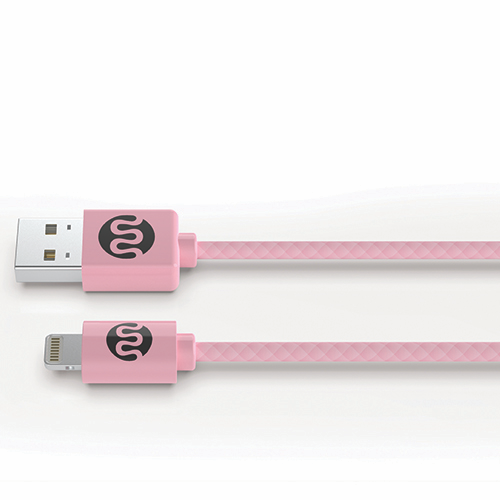 Mommy Power Lightning Cable - Pink