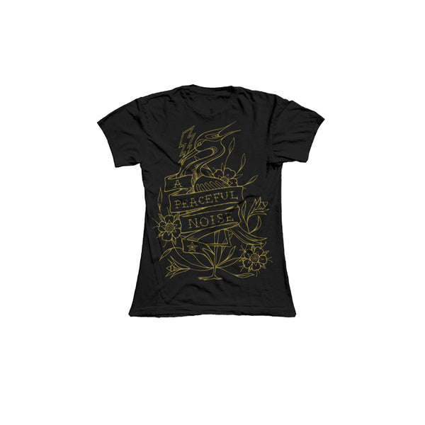BLACK GOLD LADIES HERON EVENT TEE