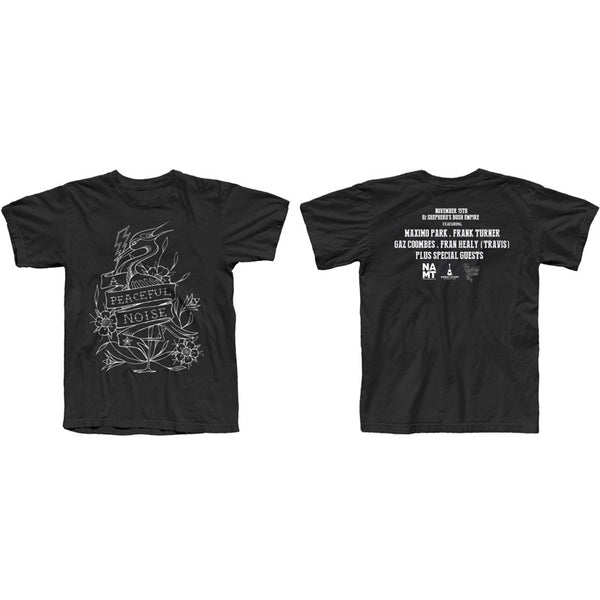 APN Line Heron Event T-Shirt Black