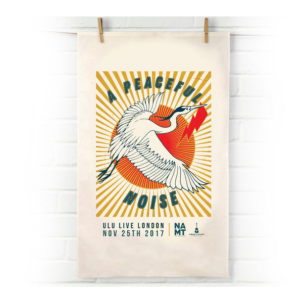 FLYING HERON TEA TOWEL