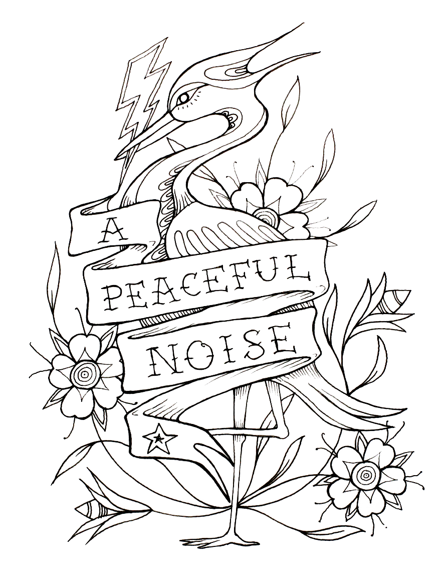 A Peaceful Noise Official Store logo