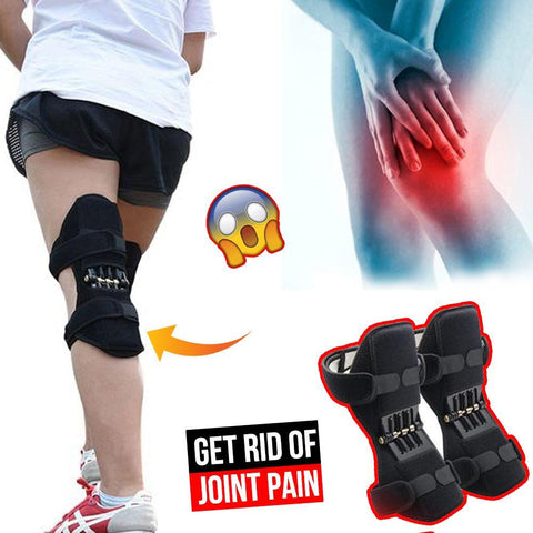 1 Pair Knee Booster Brace ( For Pain Relief, For Knee Joint Support, For Stabilizers )