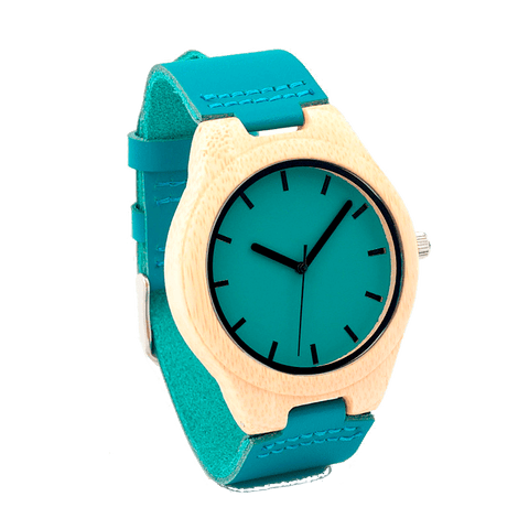 Bobo Bird Bamboo Blue Causal Watch - TheMillenialMale.com