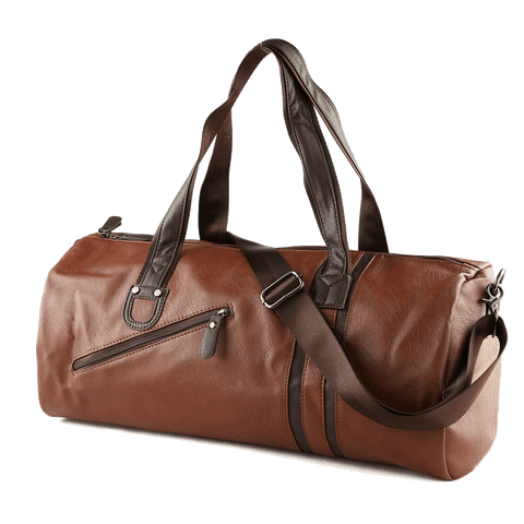 TMM Vintage Leather Duffle Bag - TheMillenialMale.com