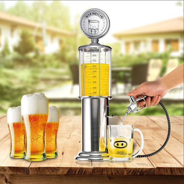 TMM Vintage Gas Pump Drink Dispenser