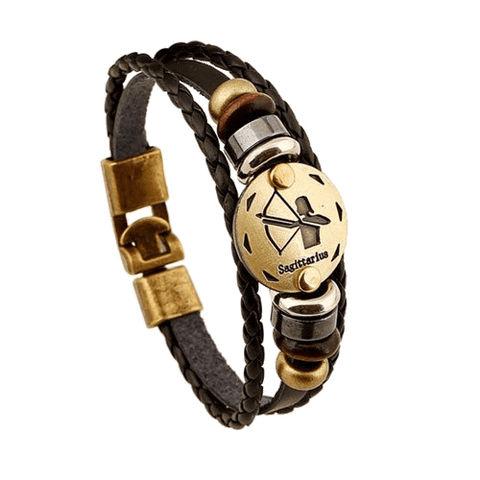 Constellation Leather Bracelet (unisex) - TheMillenialMale.com