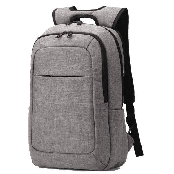 TMM Lux Canvas Men's Backpack w/ External USB Charger - TheMillenialMale.com