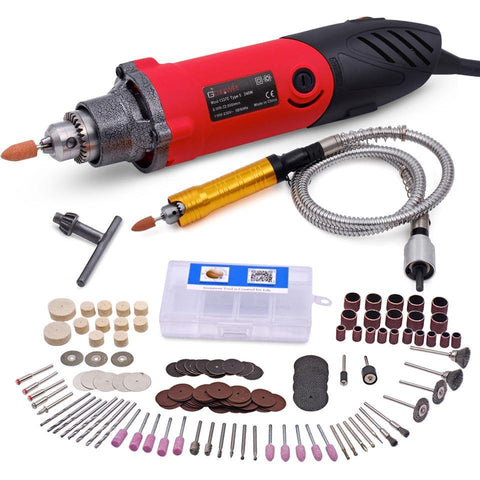 TMM 6 Speed Rotary Tool Kit with 141-Piece Accessories - TheMillenialMale.com