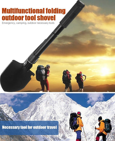 EZ 6 IN 1 Multi Survival Shovel
