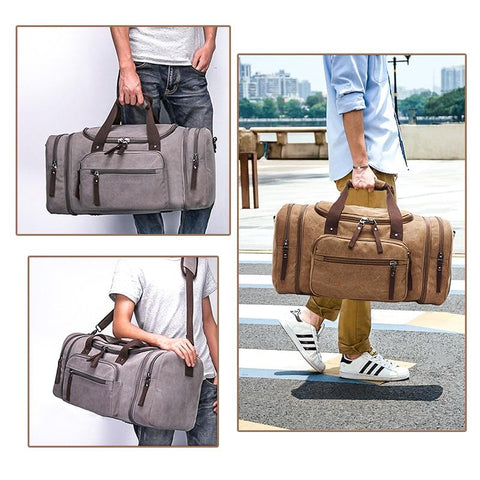 EZ Perfect Travel Canvas Bag