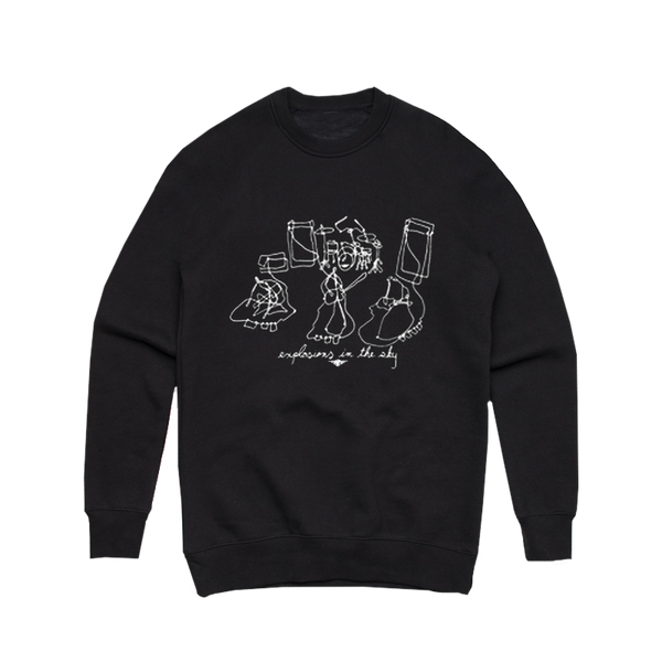 EXPLOSIONS IN THE SKY 'WIRE SCULPTURES' CREWNECK SWEATSHIRT