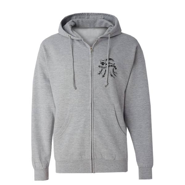EXPLOSIONS IN THE SKY 'FOX' ZIP HOODIE