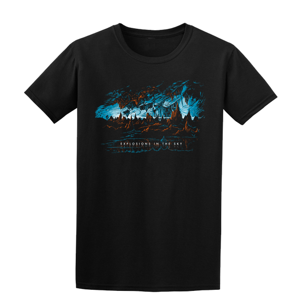 EXPLOSIONS IN THE SKY 'CAVE' BLACK TEE