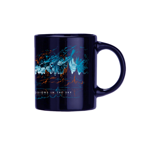 EXPLOSIONS IN THE SKY 'CAVE' BLUE MUG