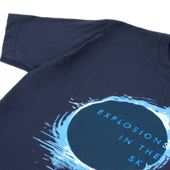 EXPLOSIONS IN THE SKY 'ECLIPSE' NAVY TEE