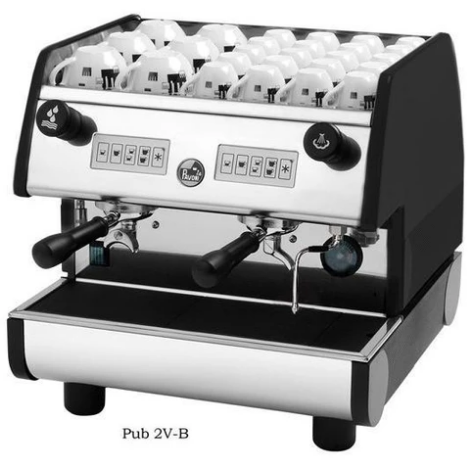 La Pavoni 2 Group volumetric Commercial Espresso Machine PUB 2V-B