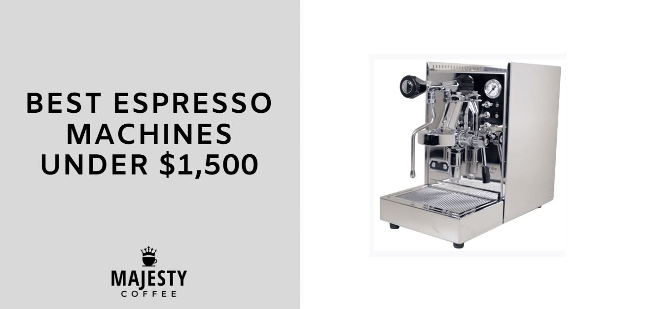 best espresso machines under 1500