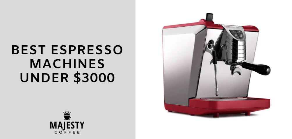 best espresso machines under 3000